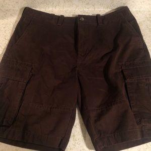 Men's Tommy Hilfiger Brown Cargo Shorts